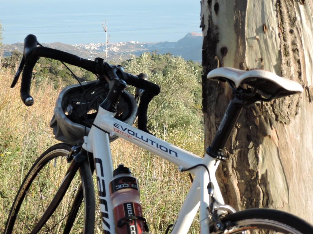 Mein zweites Reisemobil - mit dem Fahrrad in den Bergen Andalusiens