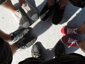 Das Schuhwerk zum Wandern